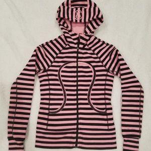 Lululemon Sweater Hoodie Jacket Scuba Size 2 Pink